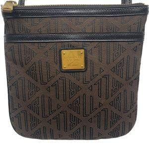 Lauren Ralph Lauren Monogram Crossbody Bag